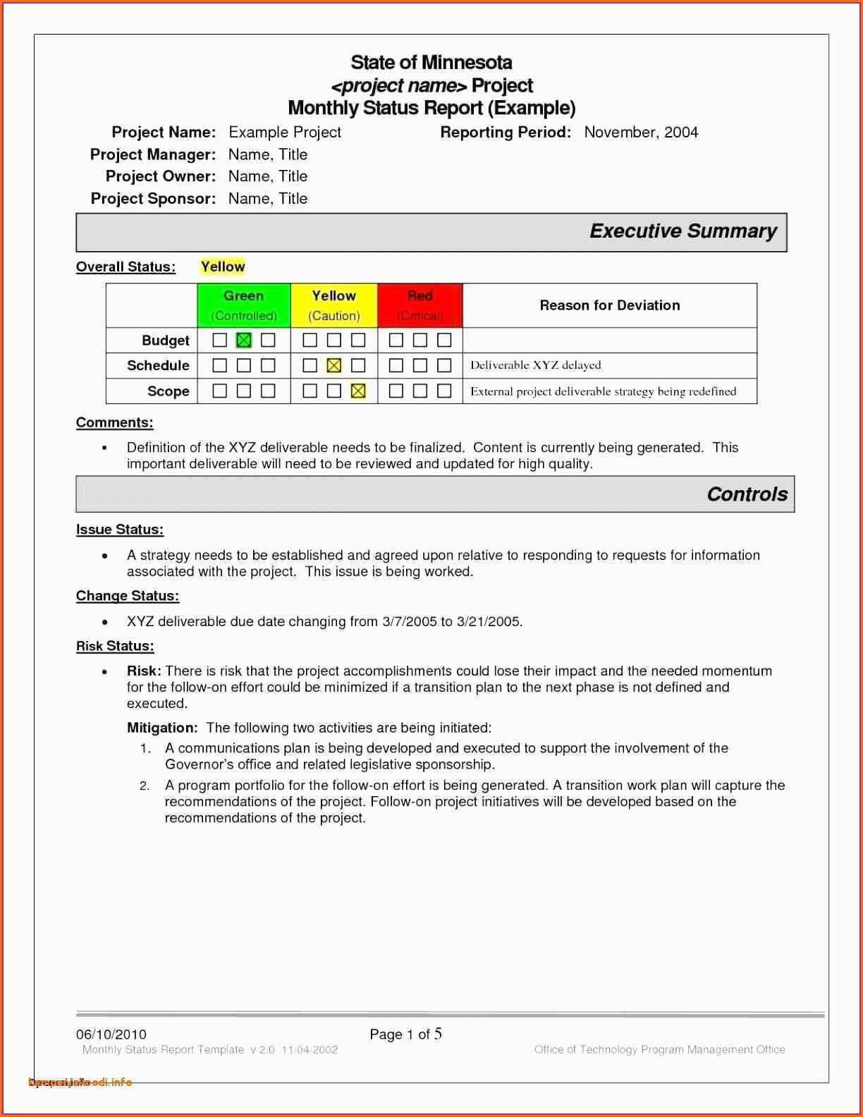 039 Template Ideas Project Status Report Sample Excel Throughout Project Status Report Template Word 2010