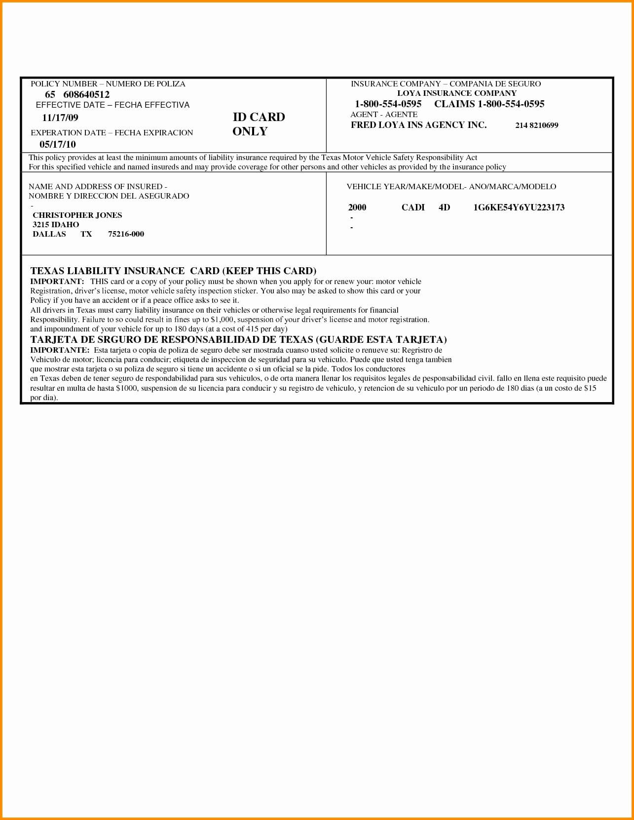 044 Fake Proof Of Insurance Templates Car Card Pdf Awesome Pertaining To Fake Auto Insurance Card Template Download