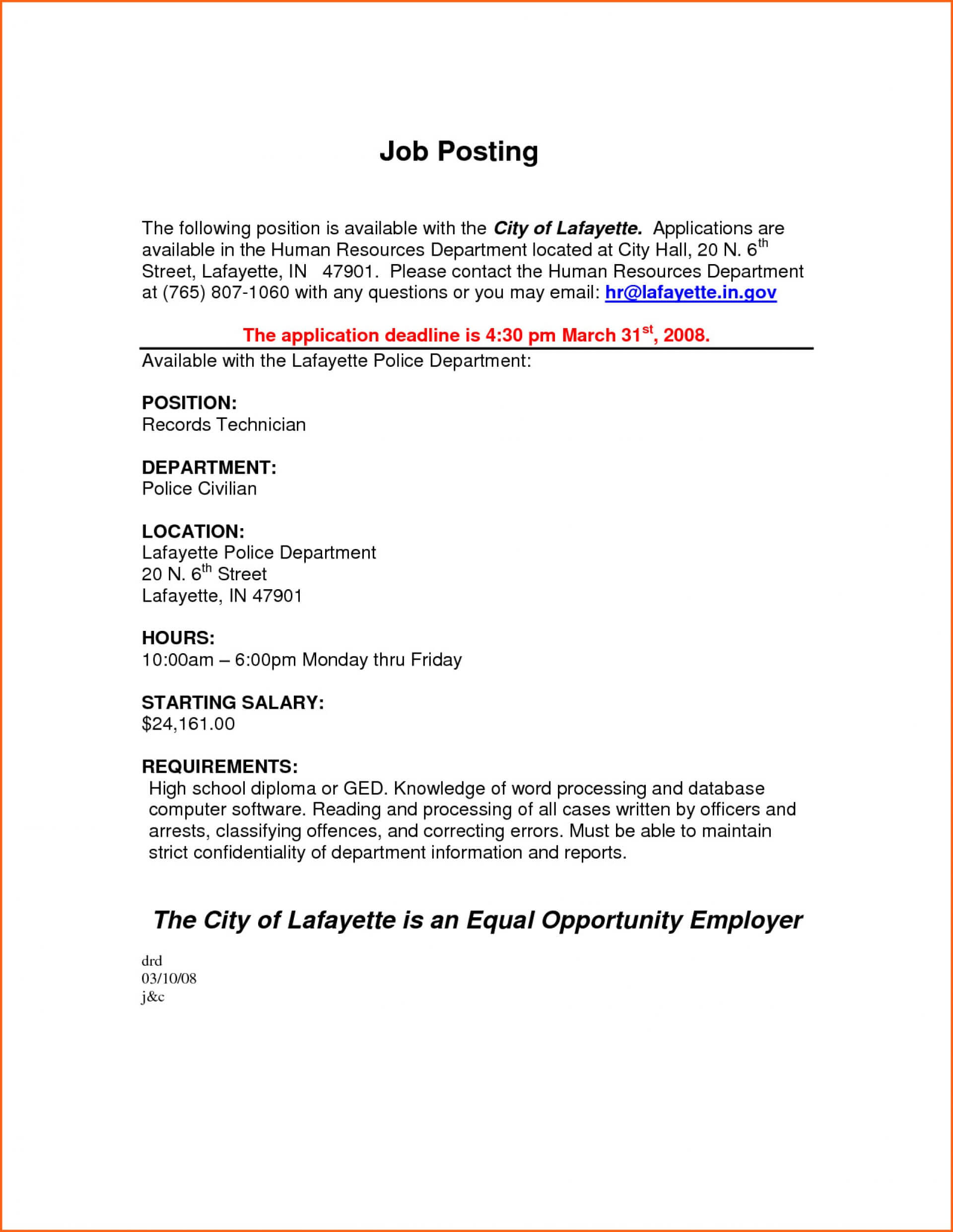 046 Stand Out Resume Templates Word Lovely Download Throughout Internal Job Posting Template Word