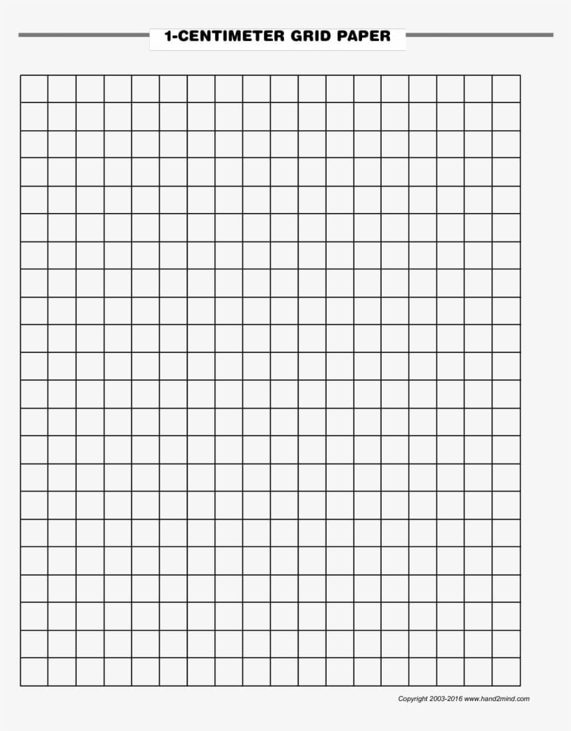 1 Centimeter Graph Paper - Blank Graph Paper With Numbers Regarding Blank Perler Bead Template