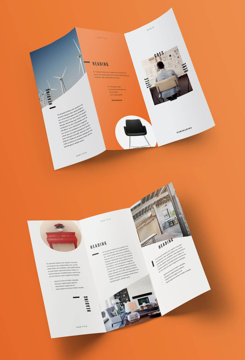 100 Best Indesign Brochure Templates Intended For Tri Fold Brochure Template Indesign Free Download