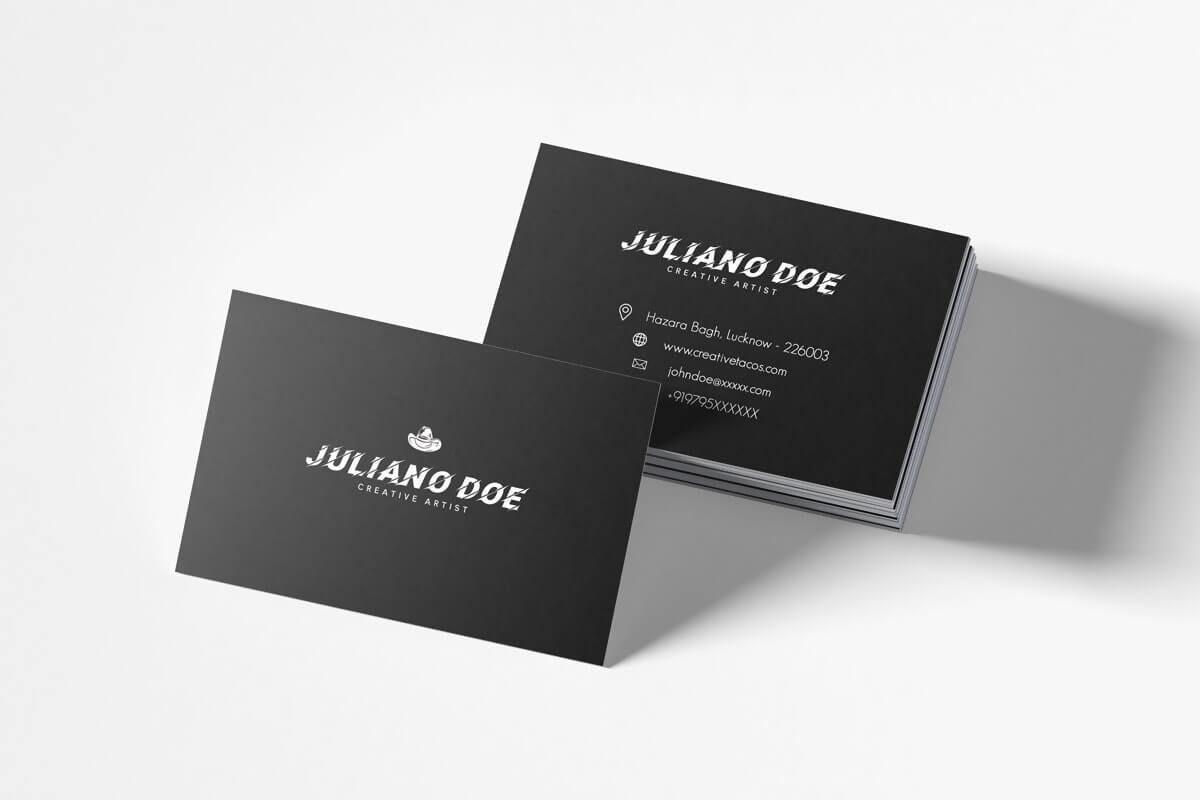 100+ Free Creative Business Cards Psd Templates Inside Free Business Card Templates In Psd Format