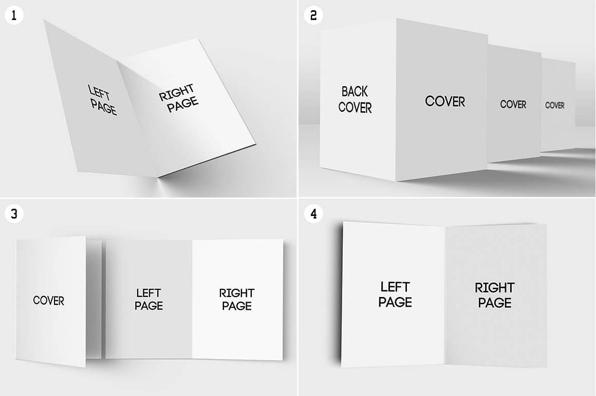 11+ Folded Card Designs & Templates - Psd, Ai | Free Throughout Foldable Card Template Word