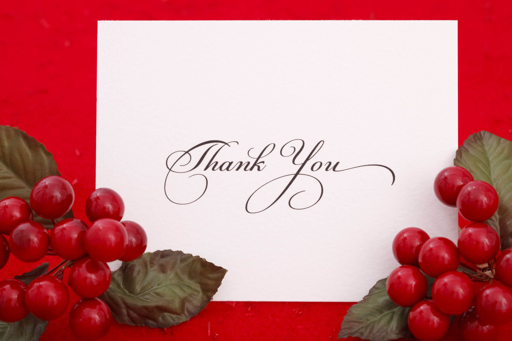 11 Free, Printable Christmas Thank You Cards With Place Card Template Free 6 Per Page