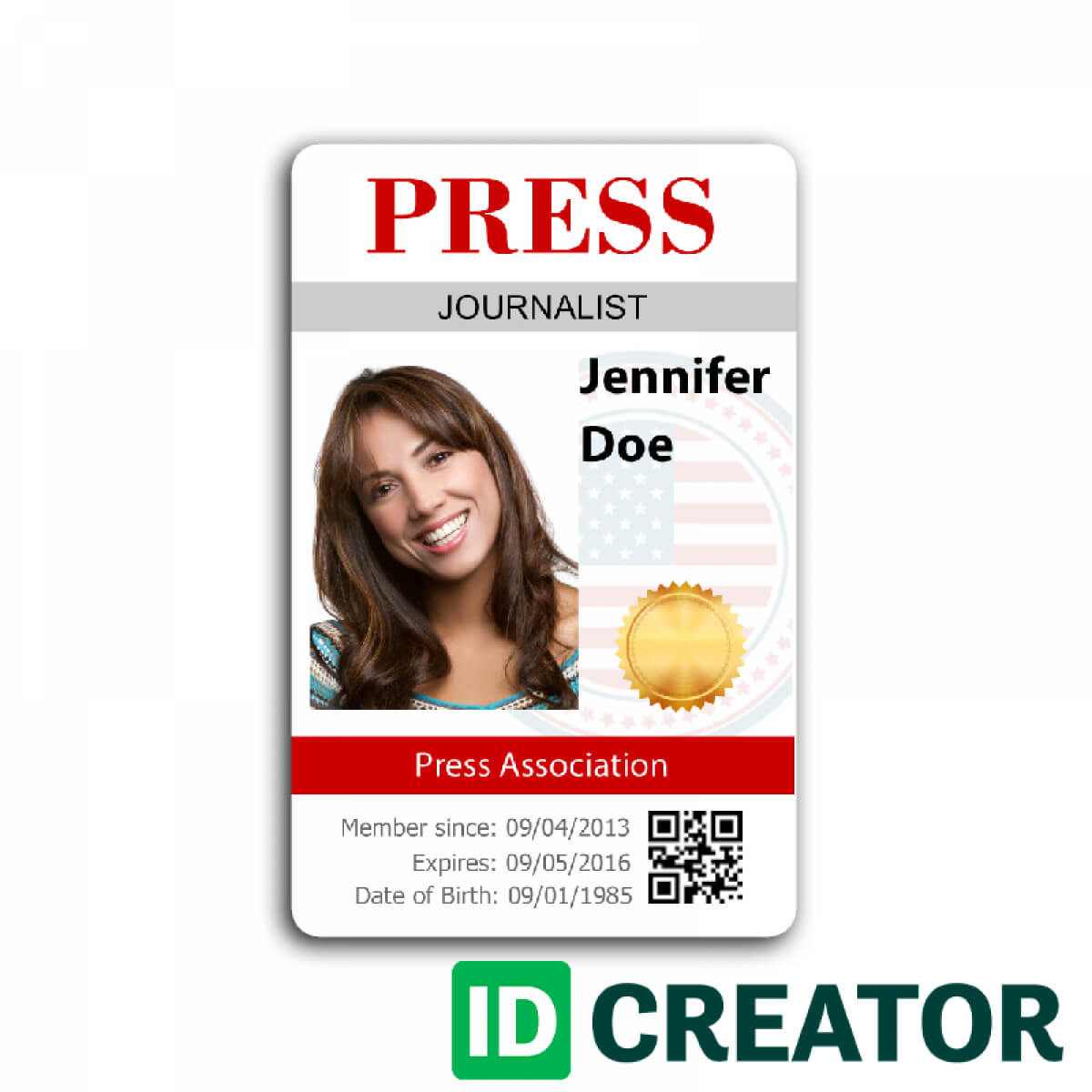 12 Images Of Media Center Passes Template | Vanscapital Pertaining To Media Id Card Templates