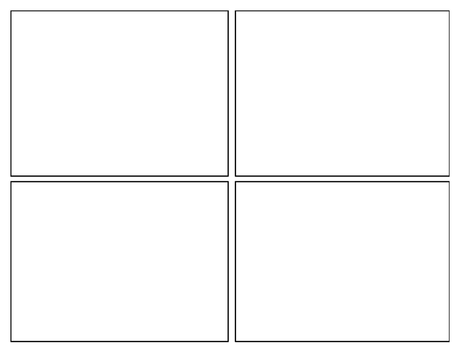 12 Images Of Square Template Printable Free | Splinket With Regard To Blank Four Square Writing Template