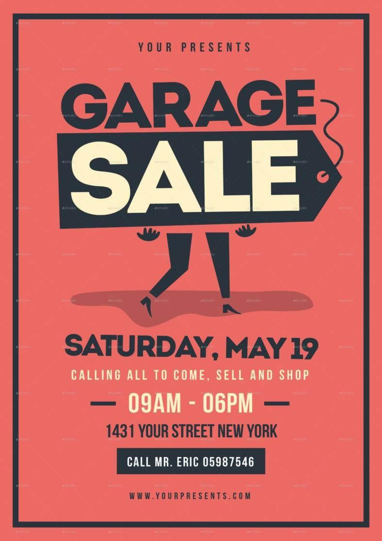 14+ Garage Sale Flyer Designs & Templates – Psd, Ai | Free With Regard To Garage Sale Flyer Template Word