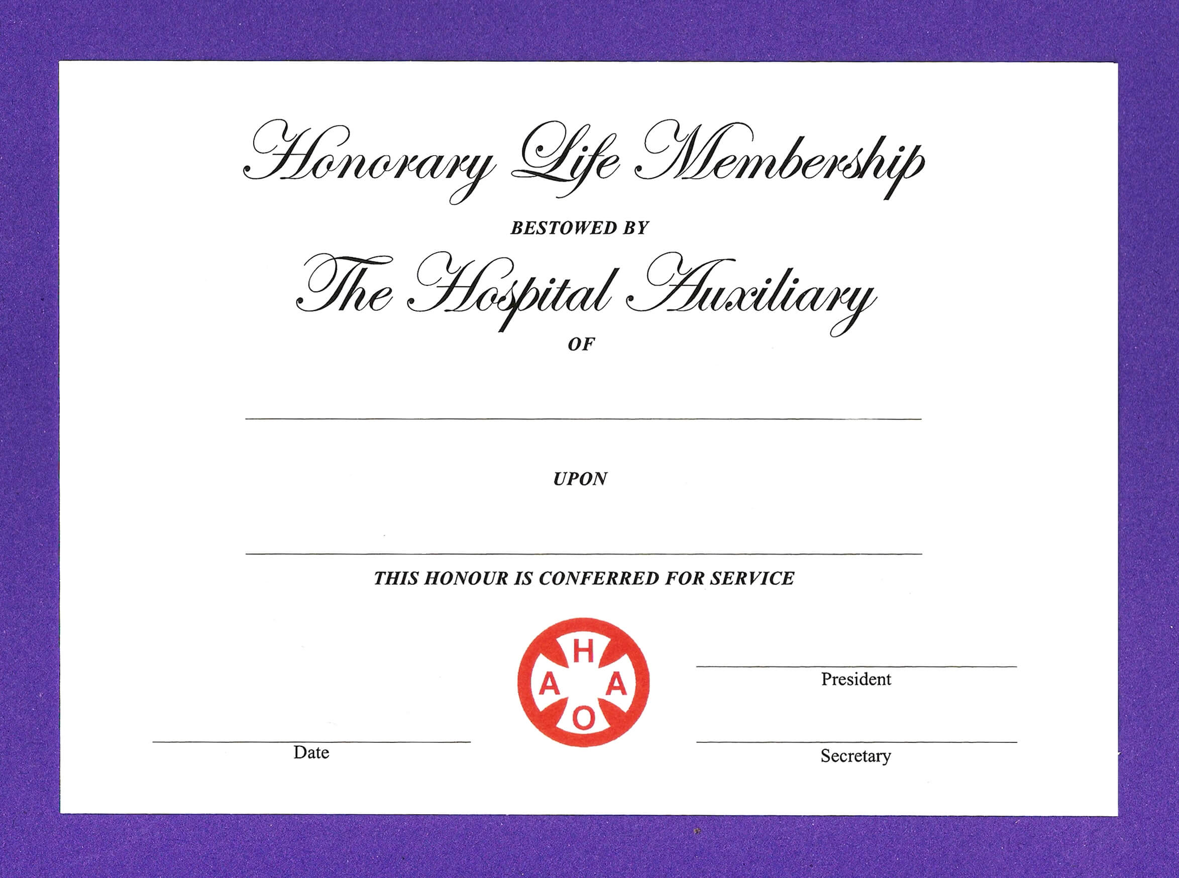 14+ Honorary Life Certificate Templates - Pdf, Docx | Free Throughout Life Membership Certificate Templates