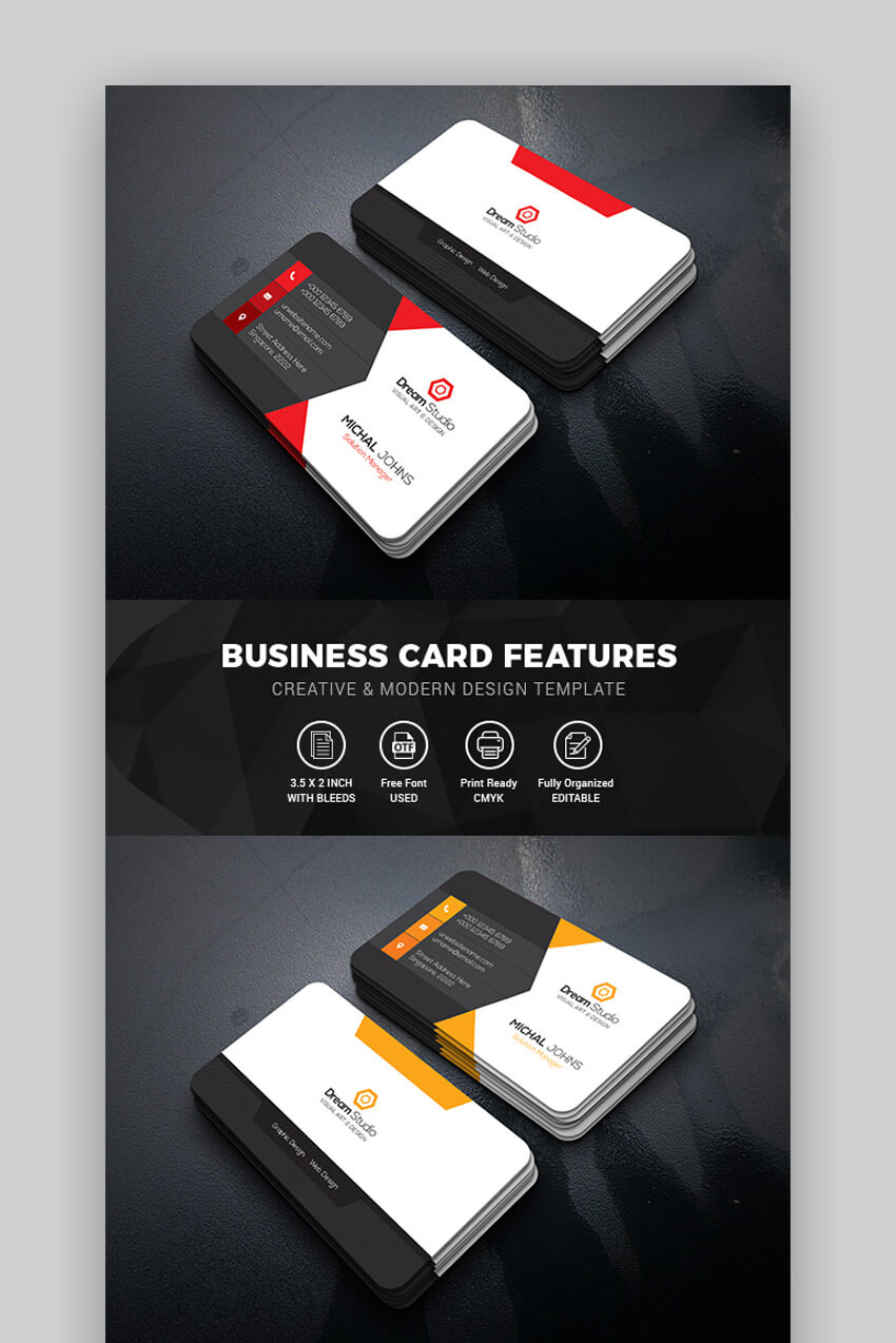 15+ Best Free Photoshop Psd Business Card Templates Intended For Create Business Card Template Photoshop