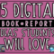 15 Digital Book Report Ideas Your Students Will Love | The In Book Report Template In Spanish