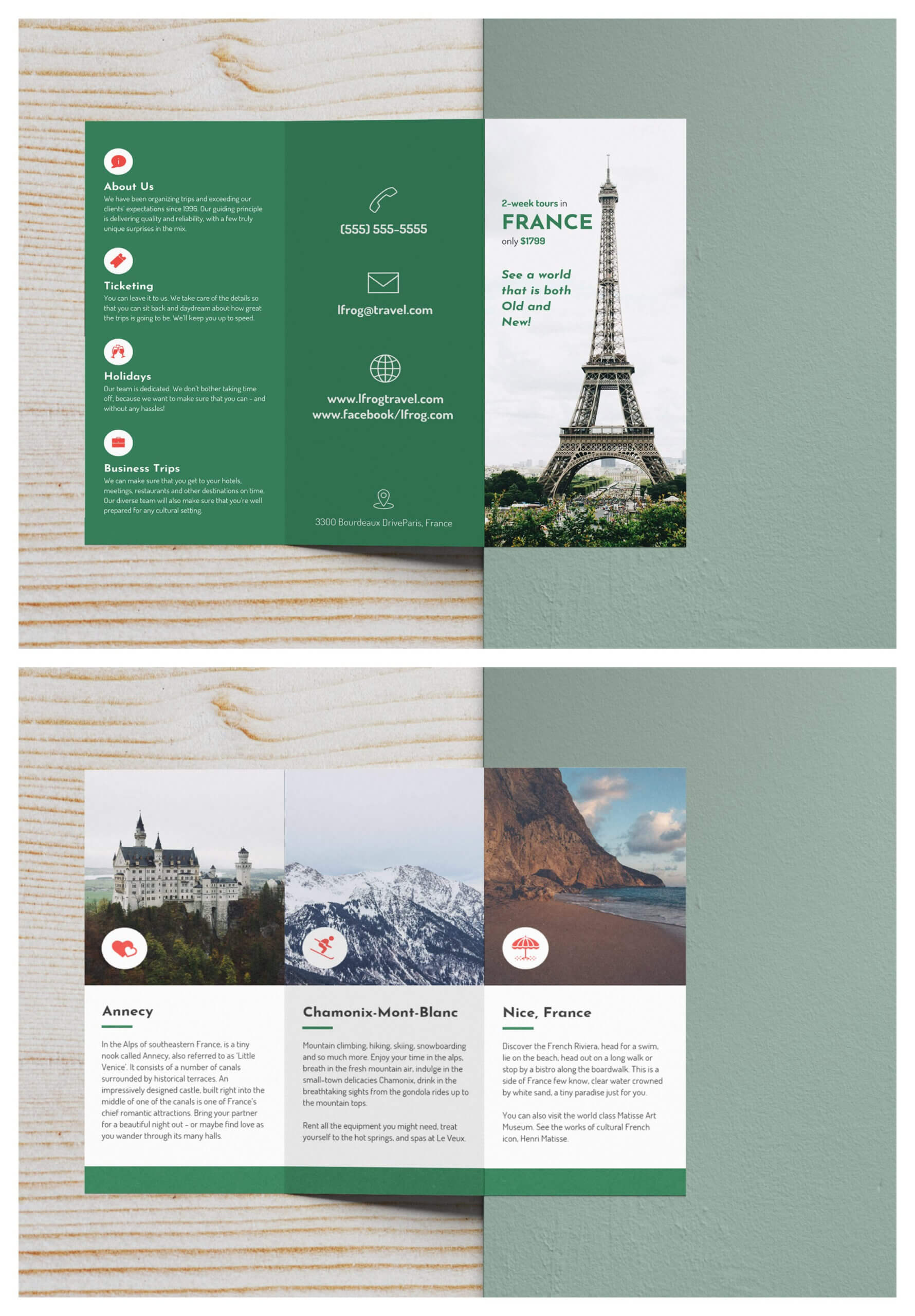 15+ Travel Brochure Examples To Inspire Your Design Regarding Travel Brochure Template For Students