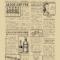 1920's Vintage Newspaper Template Word Inside Old Blank Newspaper Template