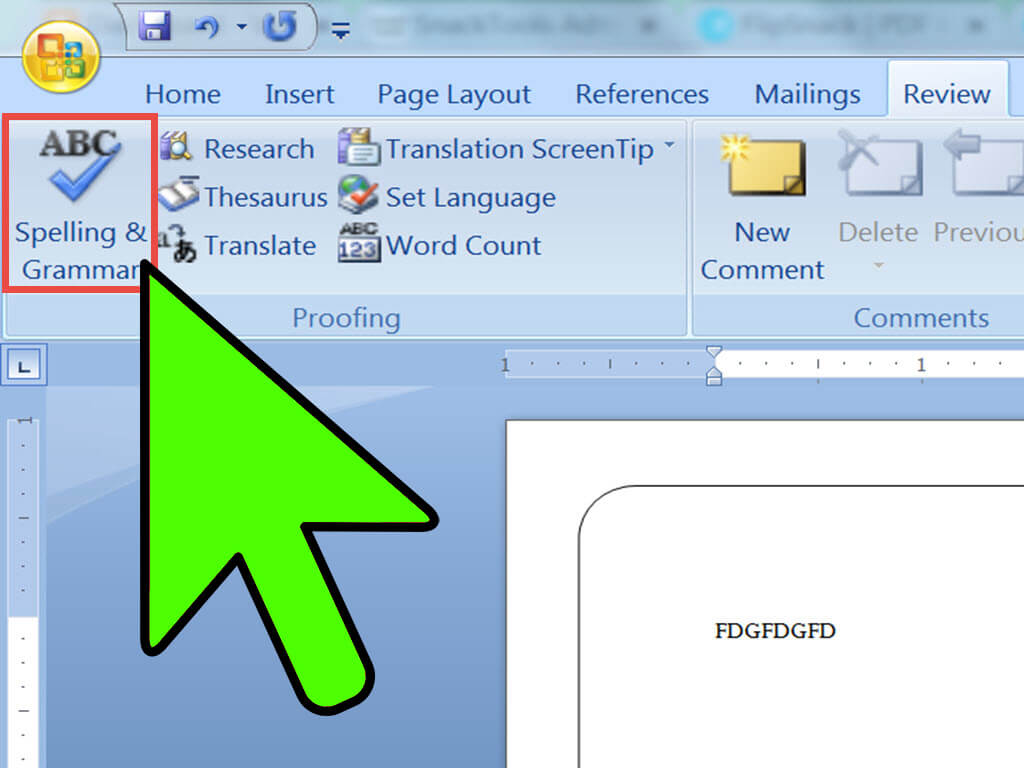 2 Easy Ways To Make A Booklet On Microsoft Word - Wikihow Pertaining To Booklet Template Microsoft Word 2007