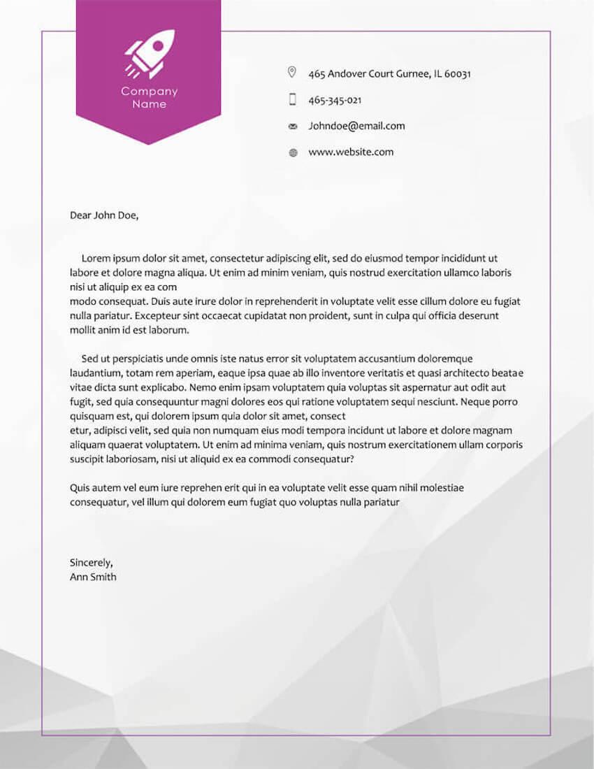 20 Best Free Microsoft Word Corporate Letterhead Templates Intended For Free Letterhead Templates For Microsoft Word