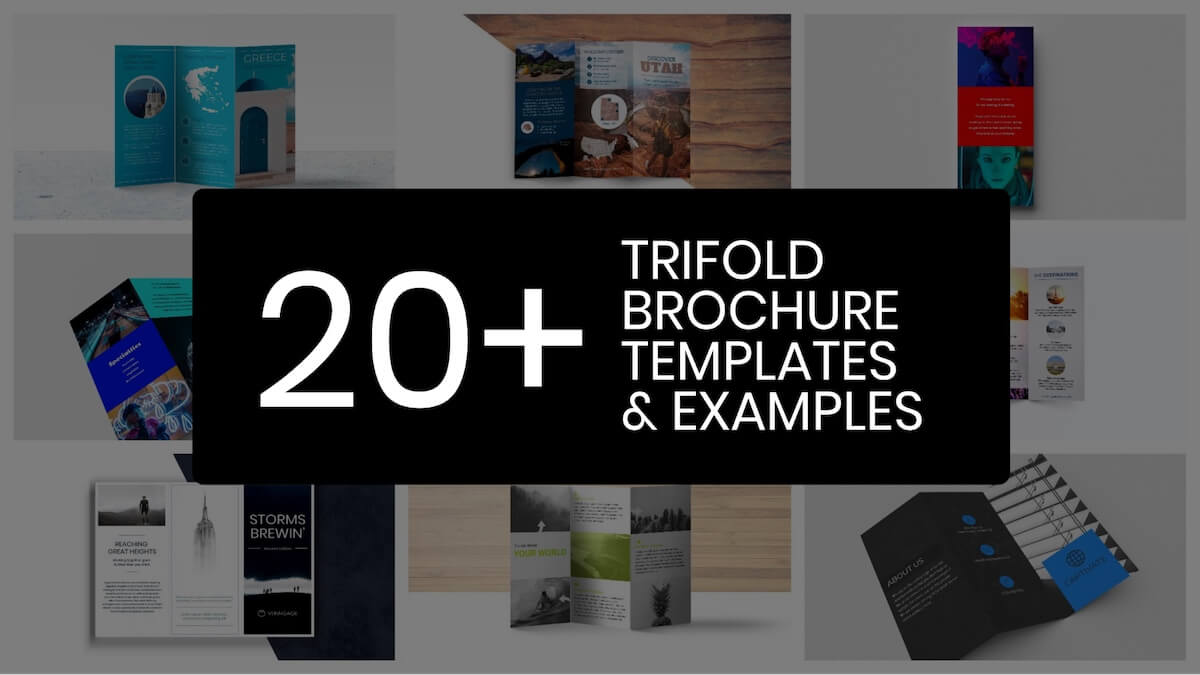20+ Professional Trifold Brochure Templates, Tips & Examples Intended For Free Online Tri Fold Brochure Template