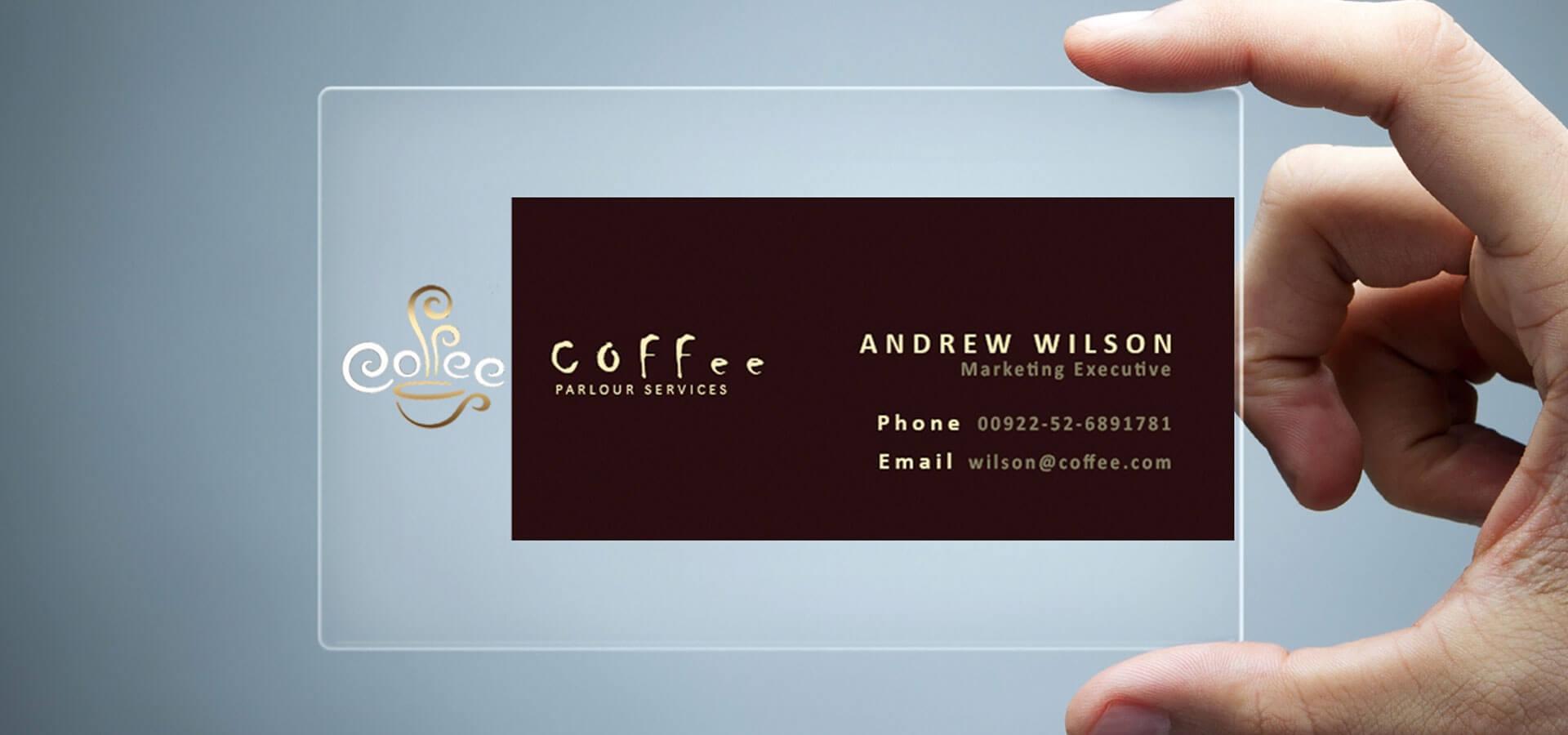 26+ Transparent Business Card Templates - Illustrator, Ms Within Pages Business Card Template