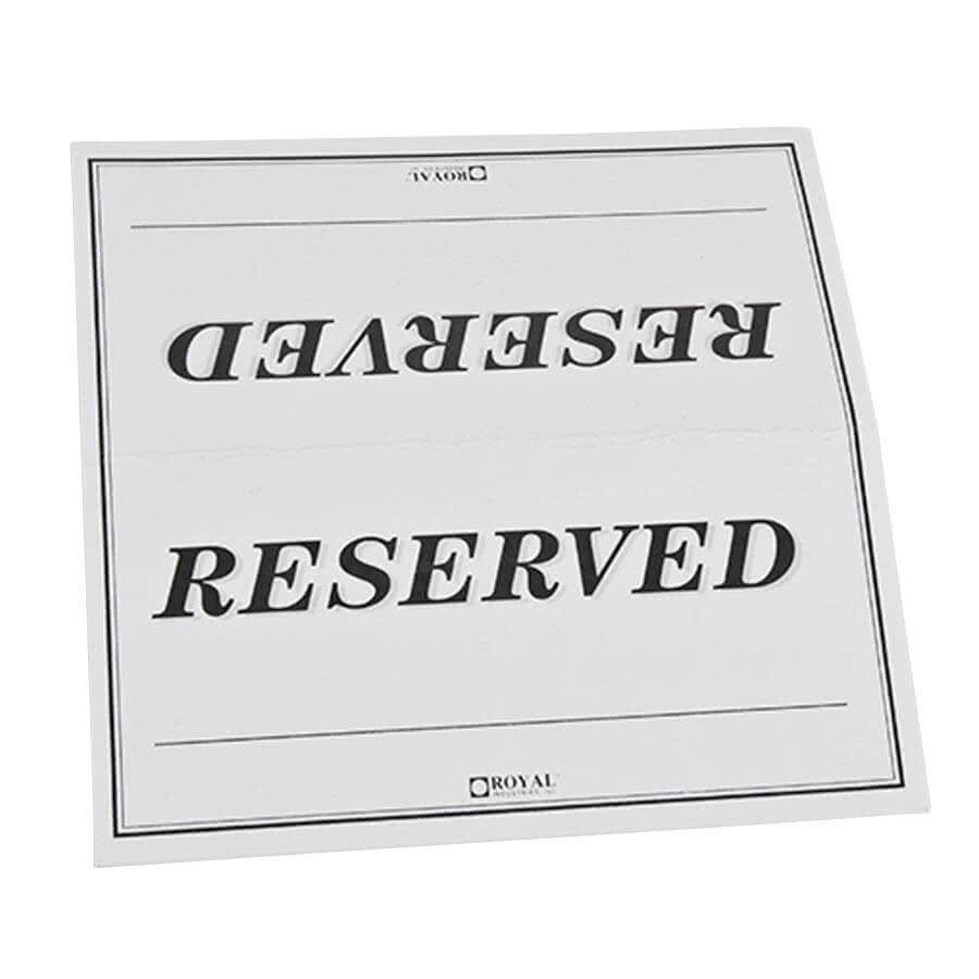 27 Images Of College Table Signs Template | Masorler For Reserved Cards For Tables Templates