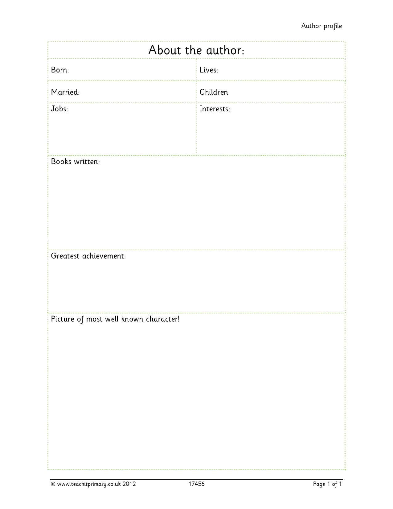 28+ [ Chronological Report Template ] | B6Cb Resources Page With Report Writing Template Ks1