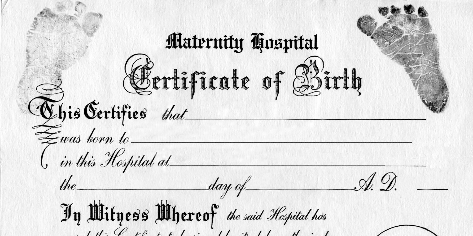 28+ [ Old Birth Certificate Template ] | Best Photos Of Old Pertaining To Editable Birth Certificate Template