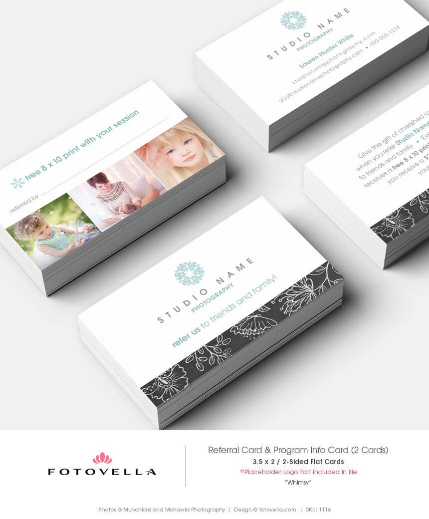 28+ [ Photography Referral Card Templates ] | Photography For Referral Card Template