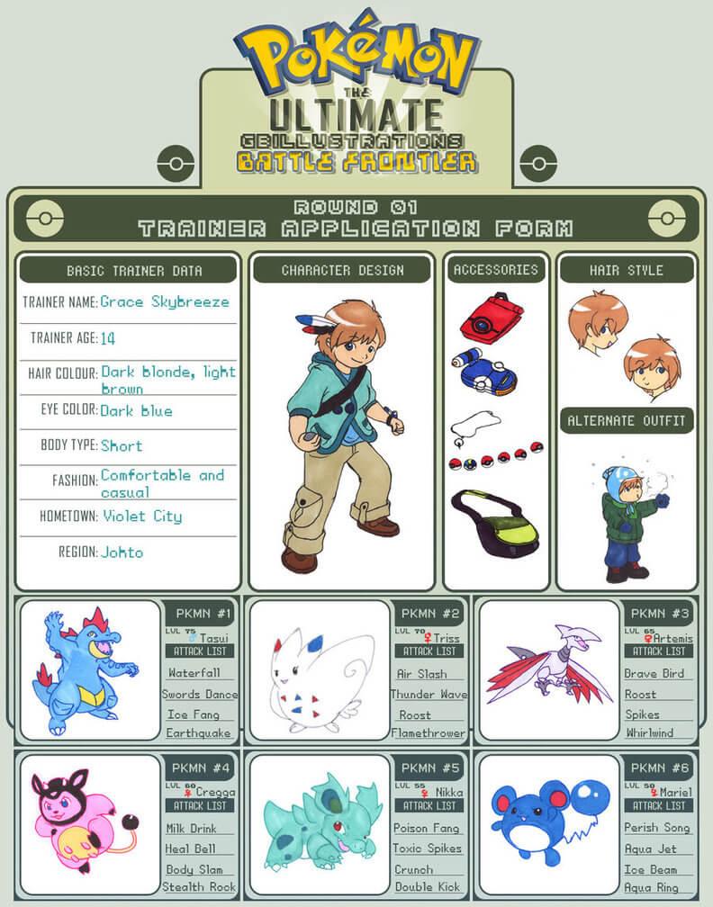 28+ [ Pokemon Trainer Card Template ]   Pokemon Trainer Card Regarding Pokemon Trainer Card Template