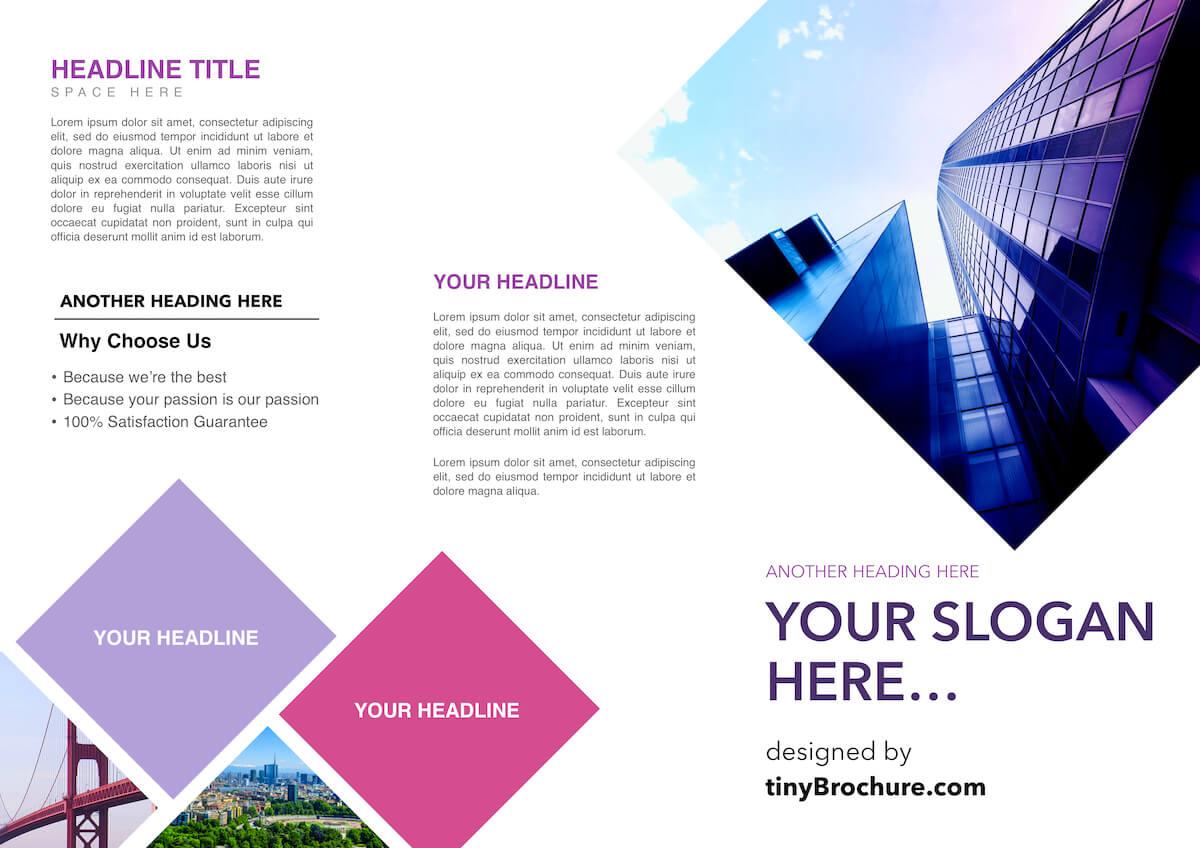 3 Panel Brochure Template Google Docs In Google Docs Travel Brochure Template