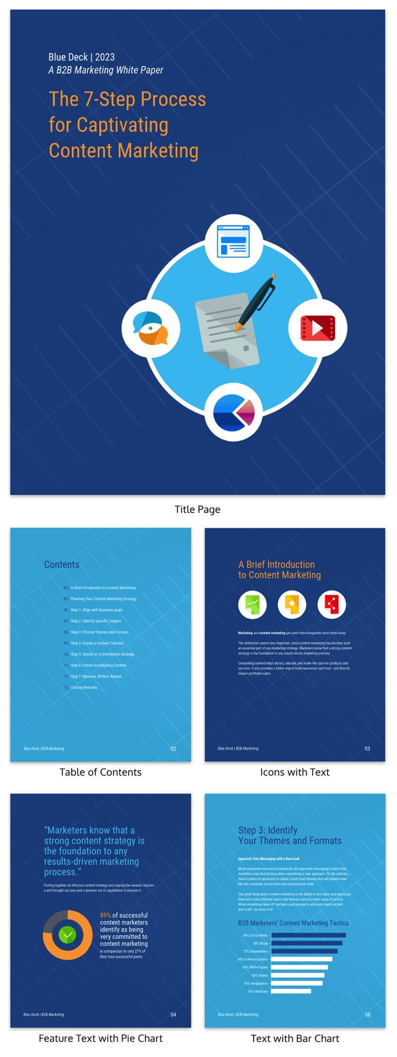 30+ Business Report Templates Every Business Needs - Venngage Intended For Business Review Report Template