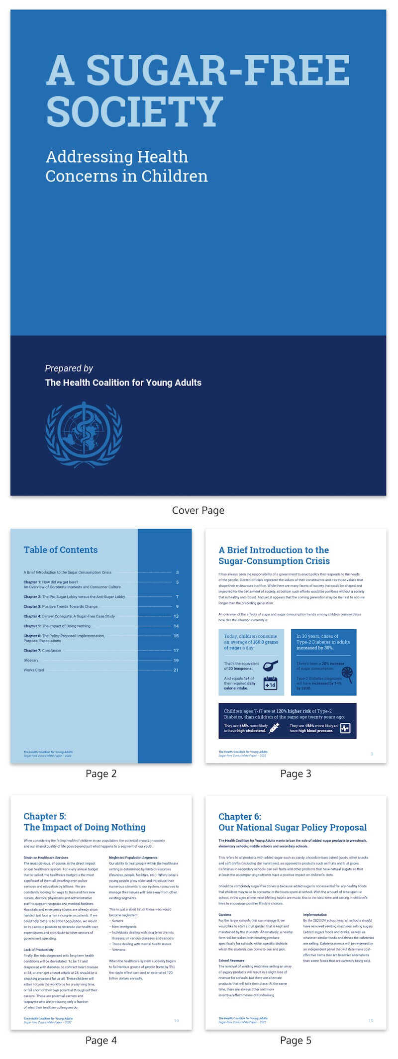 30+ Business Report Templates Every Business Needs - Venngage Within Good Report Templates