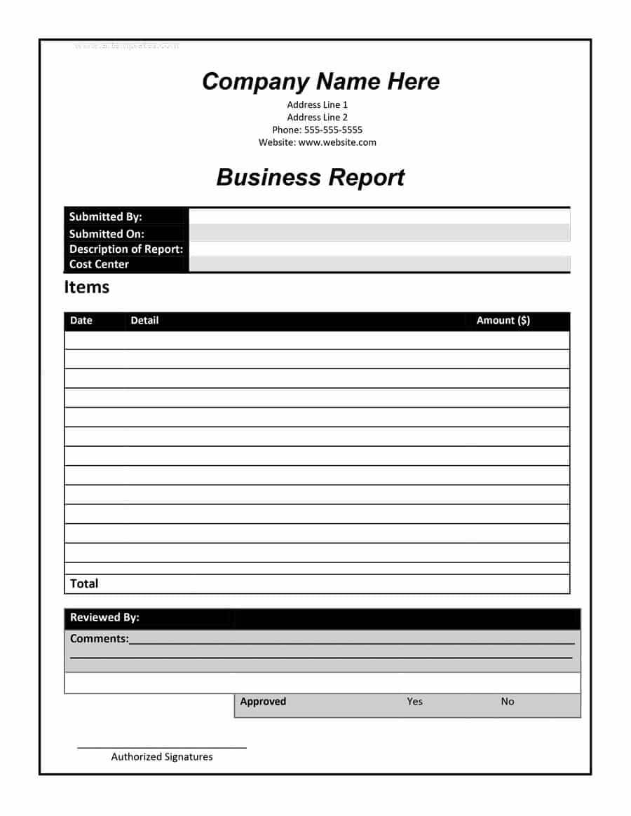 30+ Business Report Templates & Format Examples ᐅ Template Lab Inside Report Writing Template Free