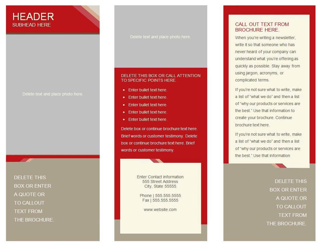 30 Google Docs Flyer Template   Andaluzseattle Template Example Throughout 6 Panel Brochure Template