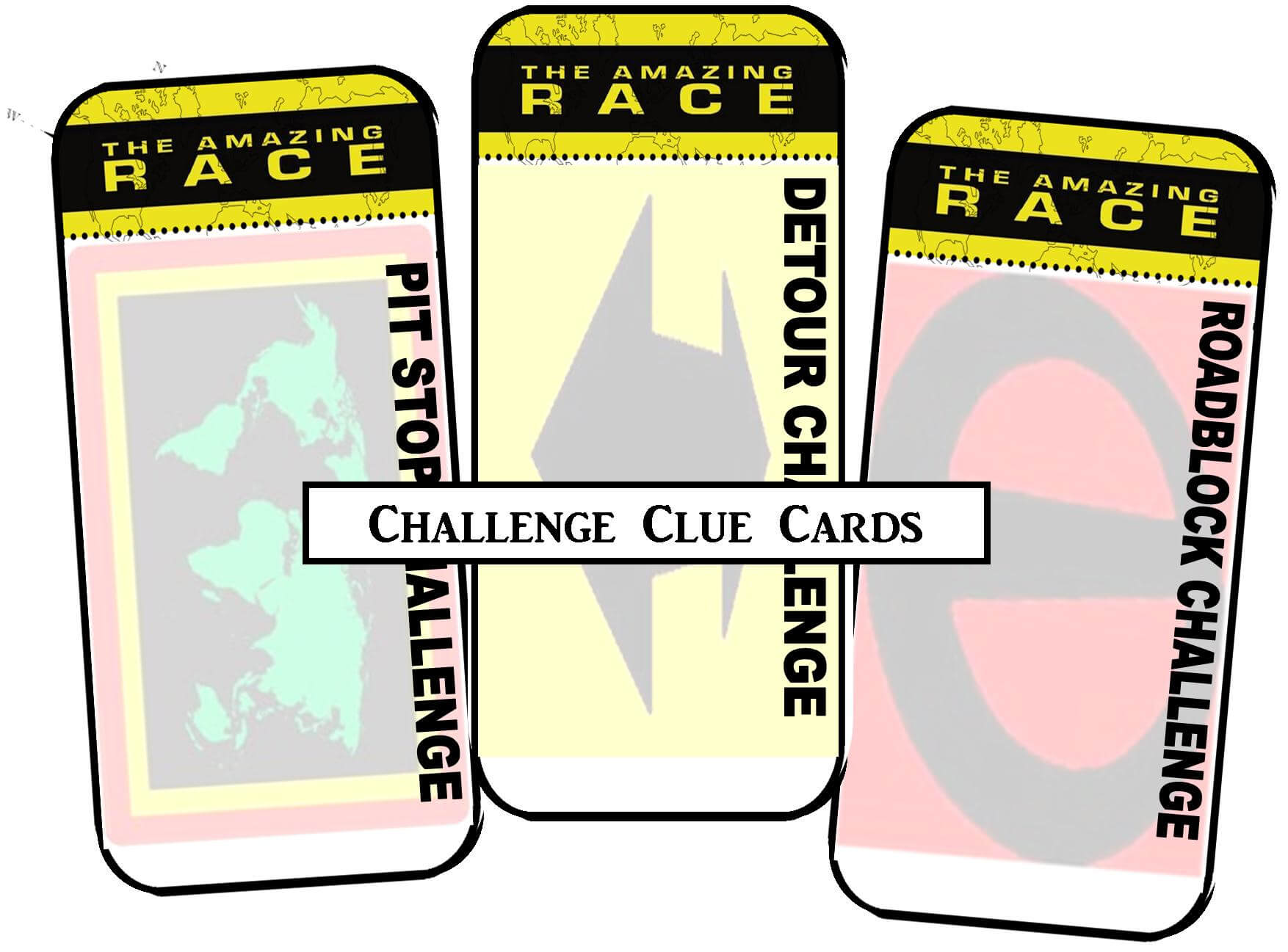 30 Images Of Amazing Race's Clues Card Printable Template Inside Clue Card Template