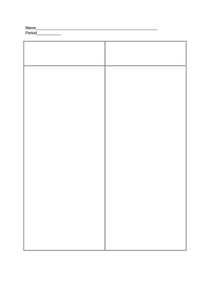 30 Printable T Chart Templates & Examples - Template Archive Intended For T Chart Template For Word