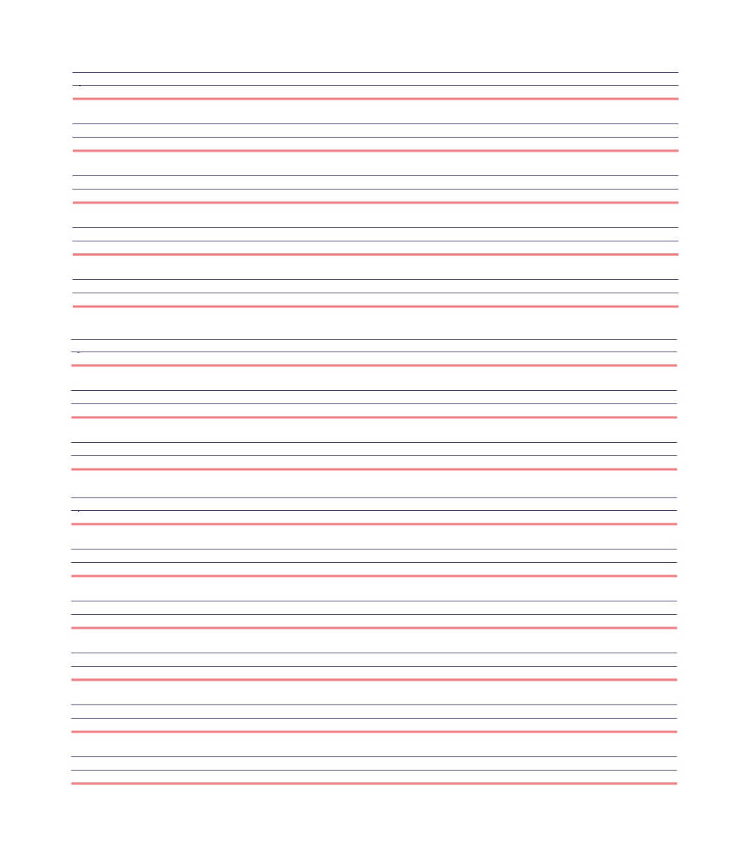 32 Printable Lined Paper Templates ᐅ Template Lab With Regard To Notebook Paper Template For Word 2010