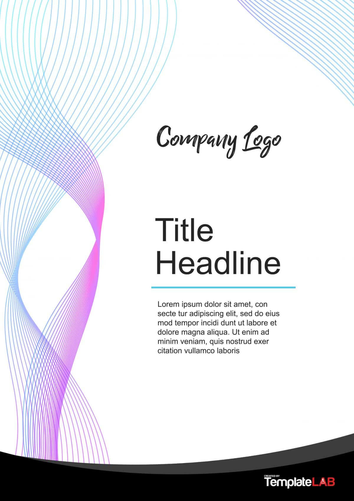 39 Amazing Cover Page Templates (Word + Psd) ᐅ Template Lab For Microsoft Word Cover Page Templates Download