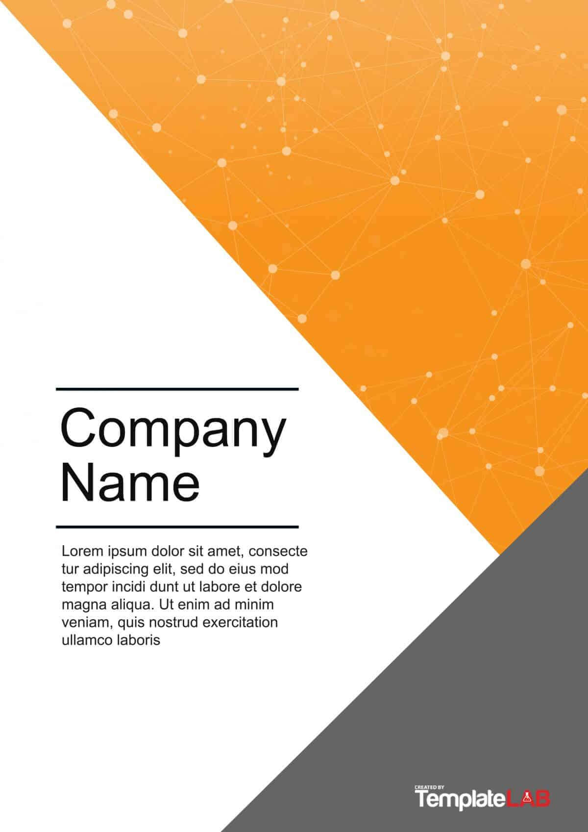 39 Amazing Cover Page Templates (Word + Psd) ᐅ Template Lab Pertaining To Word Title Page Templates