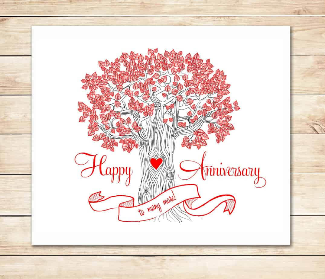 39+ Free Anniversary Card Templates In Word Excel Pdf With Regard To Word Anniversary Card Template