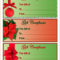 4 Christmas Gift Certificate Template Free Download | Survey Pertaining To Free Christmas Gift Certificate Templates