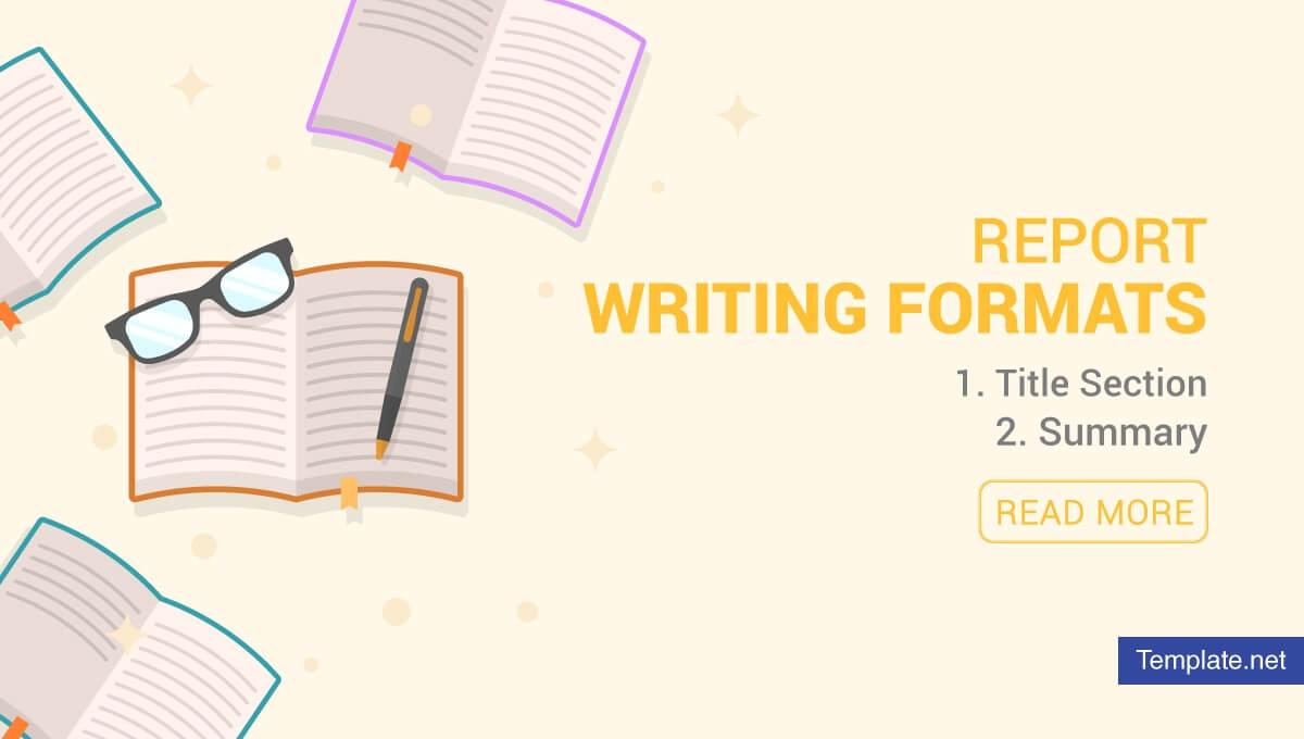 4+ Report Writing Formats - Pdf | Free & Premium Templates In Report Writing Template Free