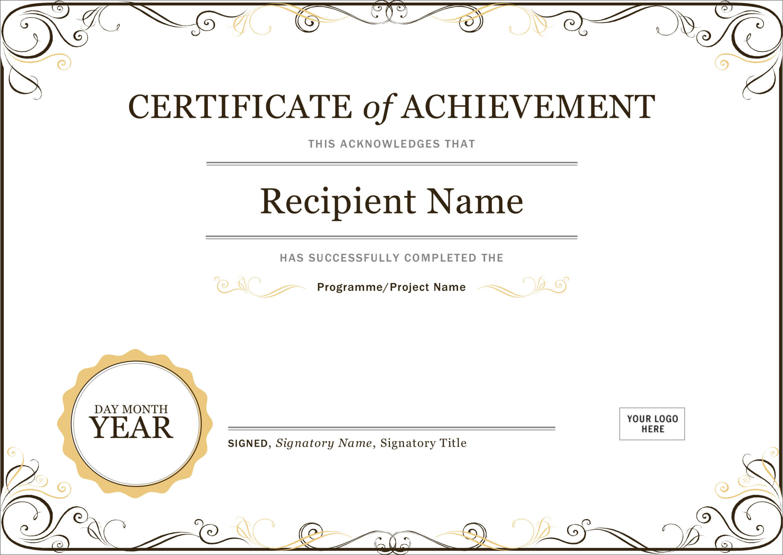 50 Free Creative Blank Certificate Templates In Psd Pertaining To Teacher Of The Month Certificate Template