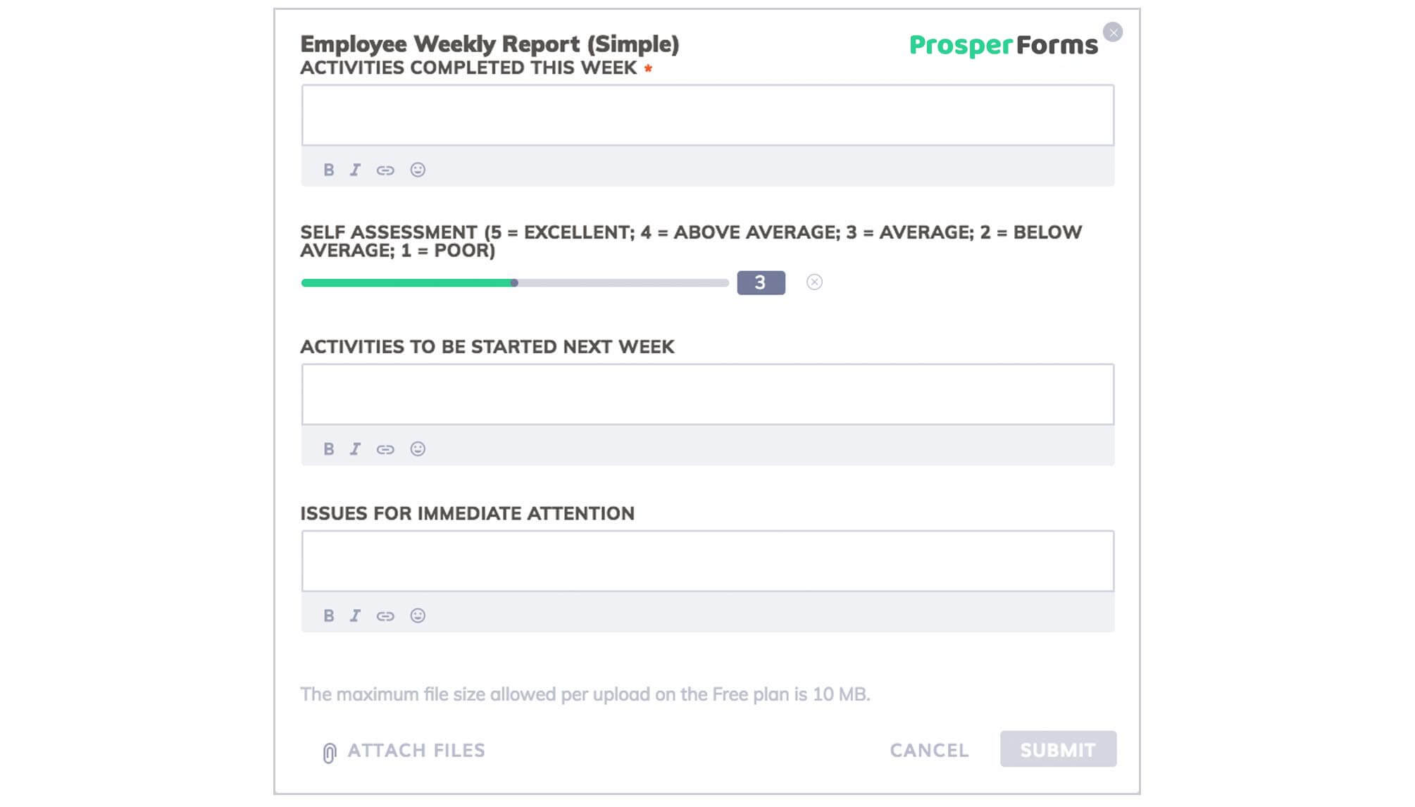 6 Awesome Weekly Status Report Templates | Free Download Inside Development Status Report Template