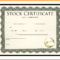 7+ Free Stock Certificate Templates Microsoft Word | Marlows Throughout Template Of Share Certificate