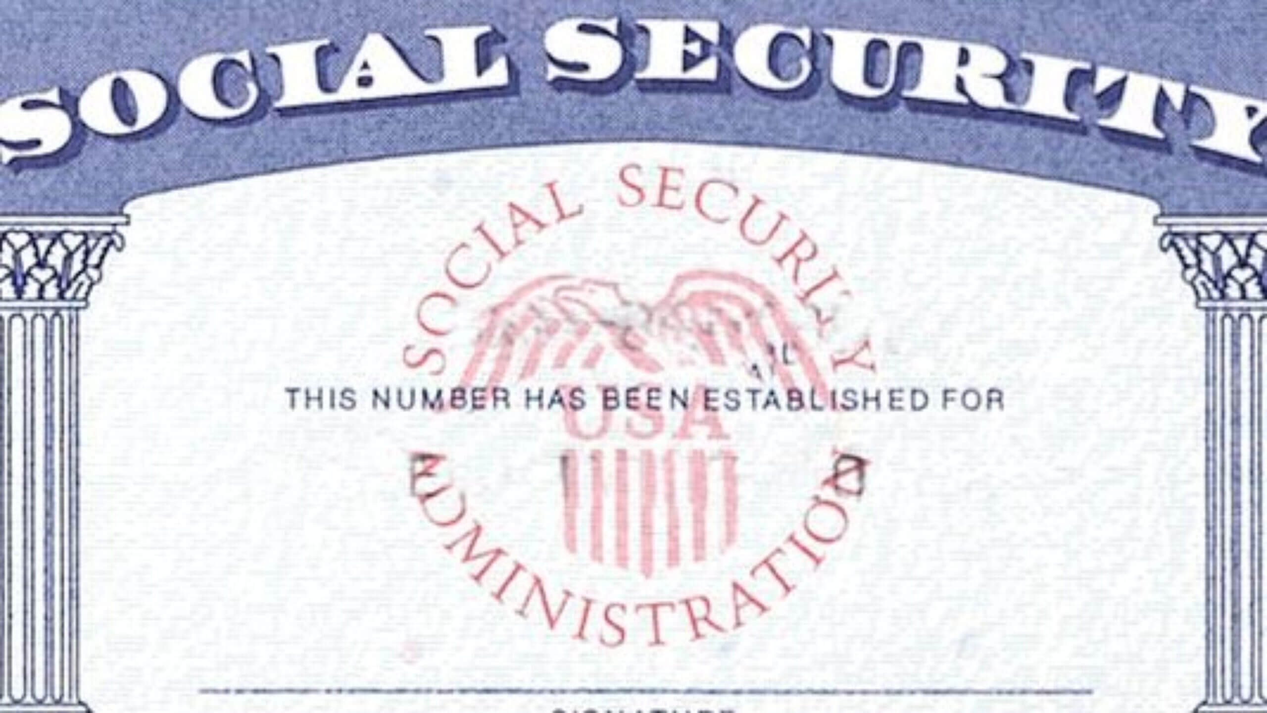 7 Social Security Card Template Psd Images - Social Security Within Social Security Card Template Pdf