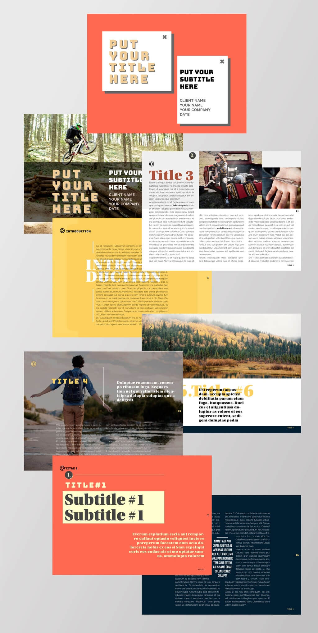 75 Fresh Indesign Templates And Where To Find More Throughout Free Indesign Report Templates