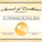 8+ Awards Certificate Template – Bookletemplate Intended For First Place Certificate Template