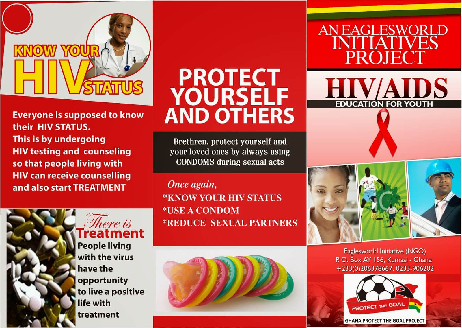 8 Best Photos Of Hiv Brochure Template - Hiv Aids Brochure Intended For Hiv Aids Brochure Templates