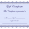 8+ Certificate Templates Word – Bookletemplate In Certificate Of Participation Word Template