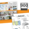 900 Place / 6 Panel Brochurevictor Suarez On Dribbble Within 6 Panel Brochure Template