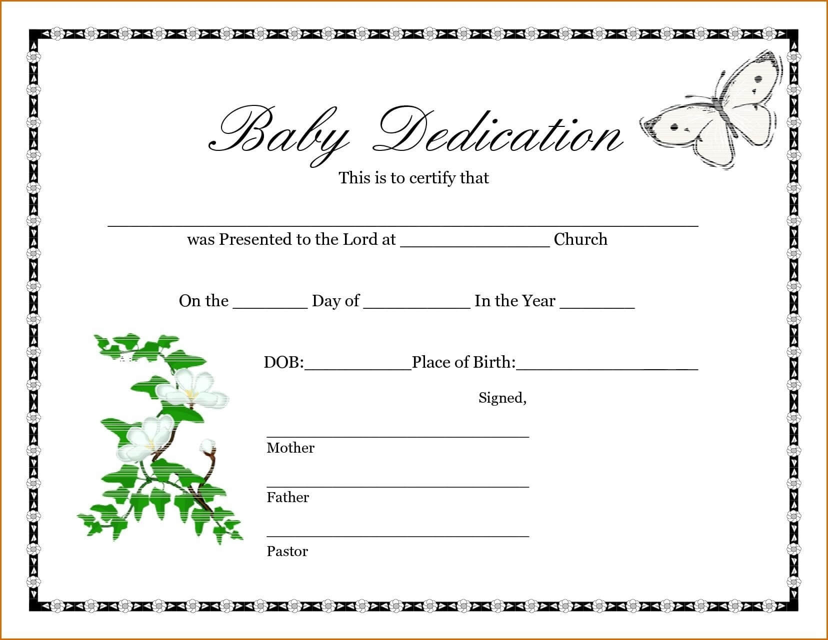 A Birth Certificate Template   Safebest.xyz For Build A Bear Birth Certificate Template