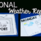 All About The Weather! (Activities, Ideas, & Freebies Within Kids Weather Report Template
