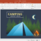 Animated Camping Powerpoint Template Within Powerpoint Templates Tourism
